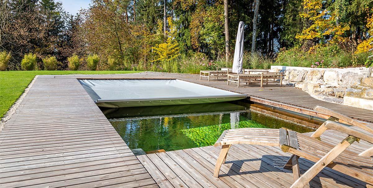 Timberra Naturpools bieten gleichen Komfort wie konventionelle Swimmingpools